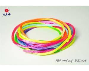 彩色中國結繩